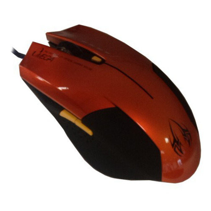 Мишка Omega 6D OPT GAMING, оптична, 2400 DPI, USB, оранжева image