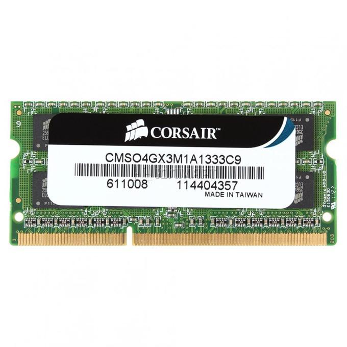 Corsair CMSO4GX3M1A1333C9 4GB DDR3 1333MHz So-Dimm