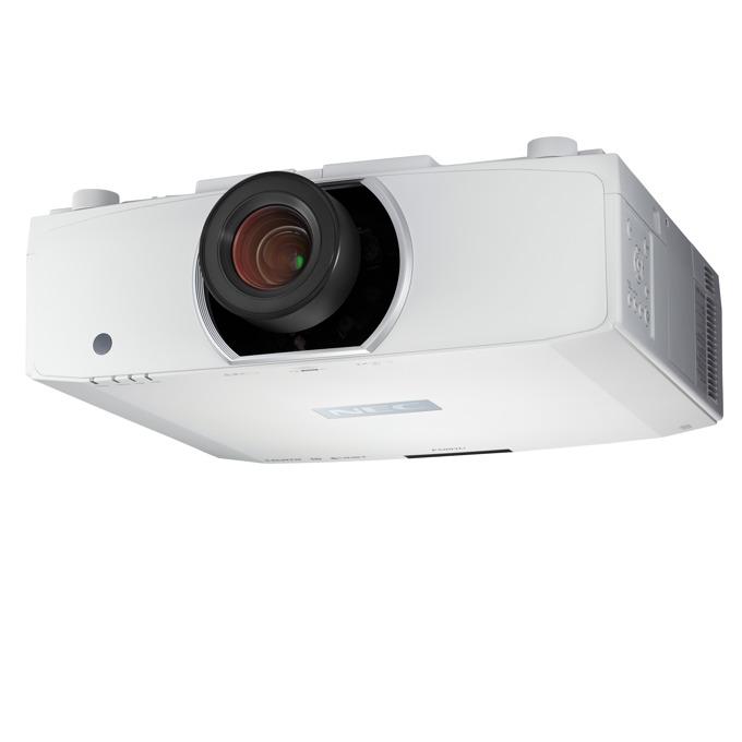 Проектор NEC PA653U, LCD, WUXGA (1920x1200), 8000:1, 6500 lm, VGA, HDMI, DisplayPort, HDBaseT, RS232, USB, LAN image