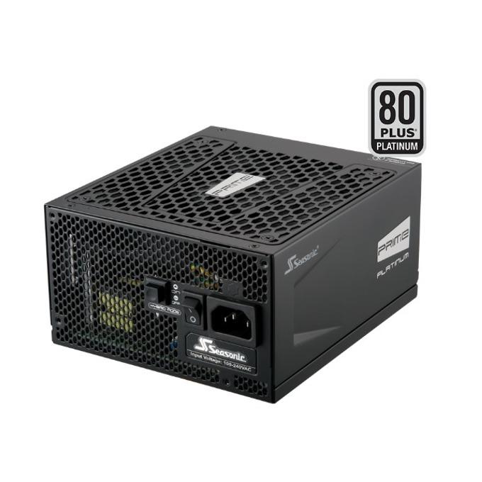 Захранване Seasonic Prime SSR-650PD, 650W, Active PFC, 80+ Platinum, 135мм вентилатор image