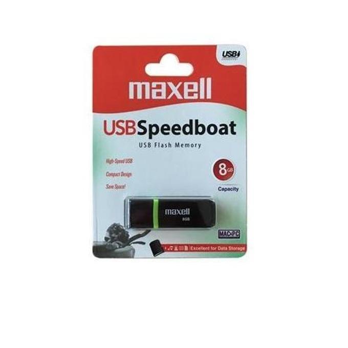 Памет 8GB USB Flash Drive, Maxell Venture, USB 2.0, черна image