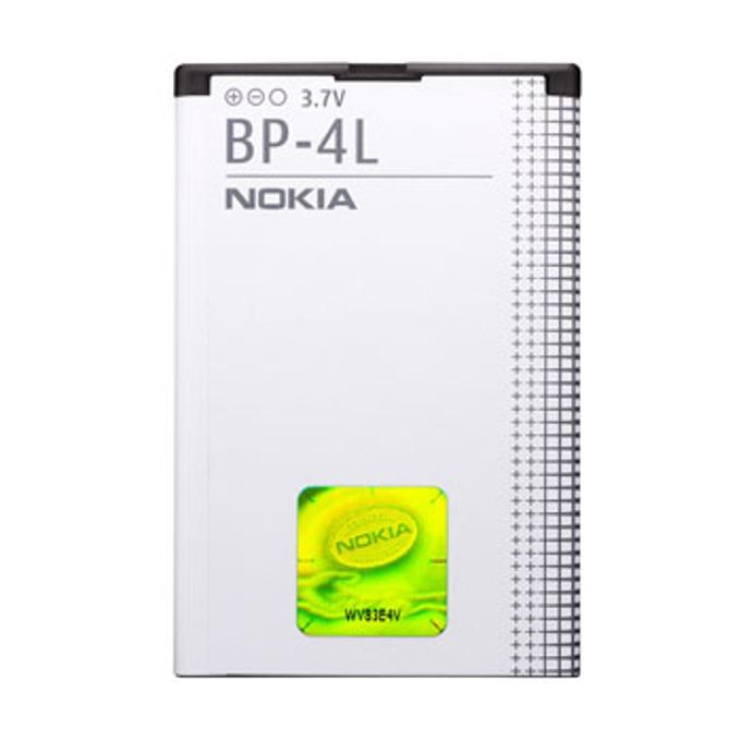 Батерия (оригинална) Nokia BP-4L за Nokia 6650/6650fold, 6760slide, 6790slide, 6790surge, E52, E55, E6-00, E61i, E63, E71, E71x, E72, E73Mode, E90 Communicator, N810 Internet Tablet, N97, N97i, 1500mAh/3.7V, Bulk image