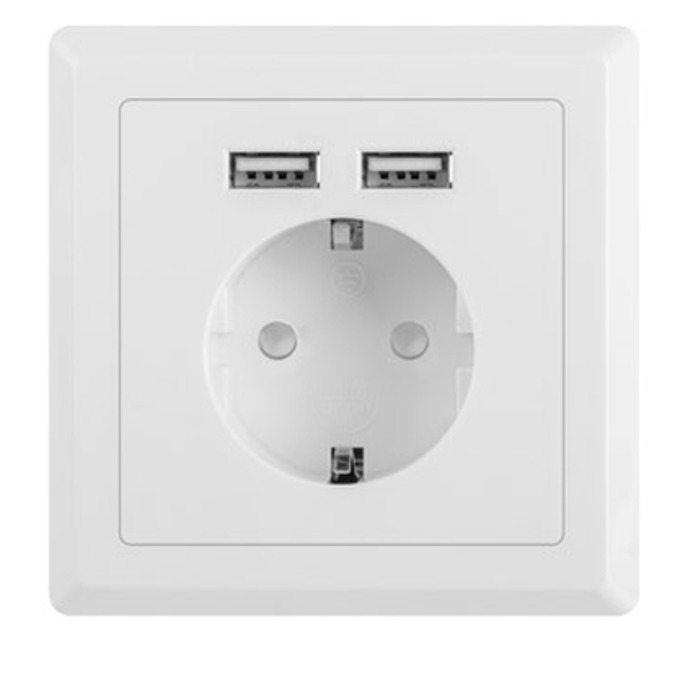 Lanberg AC-WS01-USB2-F