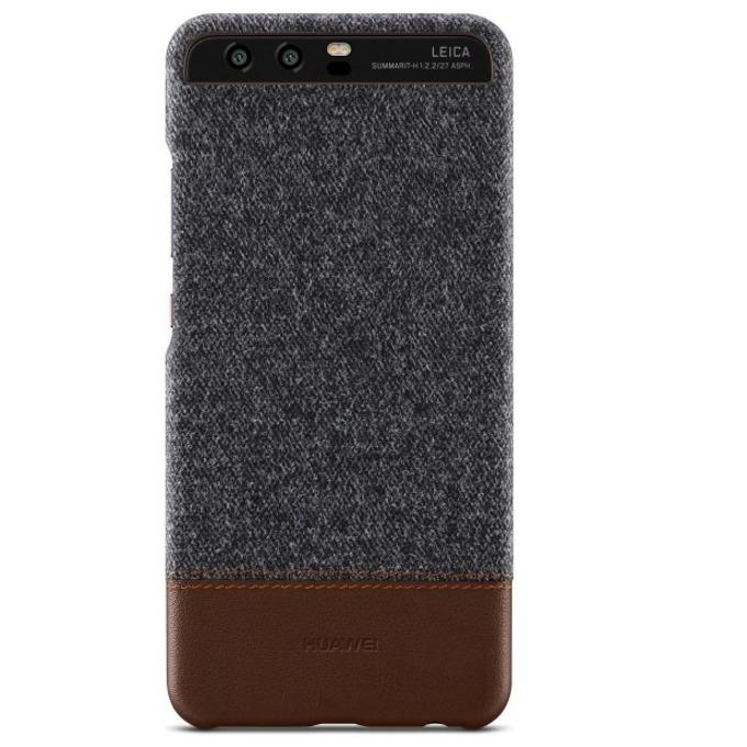 Калъф за Huawei P10 Lite, страничен с гръб, полимер, Huawei P10 Victoria, сив image