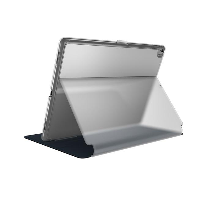 "Калъф за таблет Apple iPad (2017/2018) 9.7"" (24.38cm), Speck Balance Folio Clear, черен/прозрачен image"
