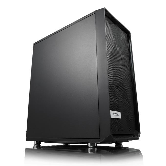 Кутия Fractal Design Meshify C, ATX, mATX, ITX, 2x USB 3.0, черна, без захранване image