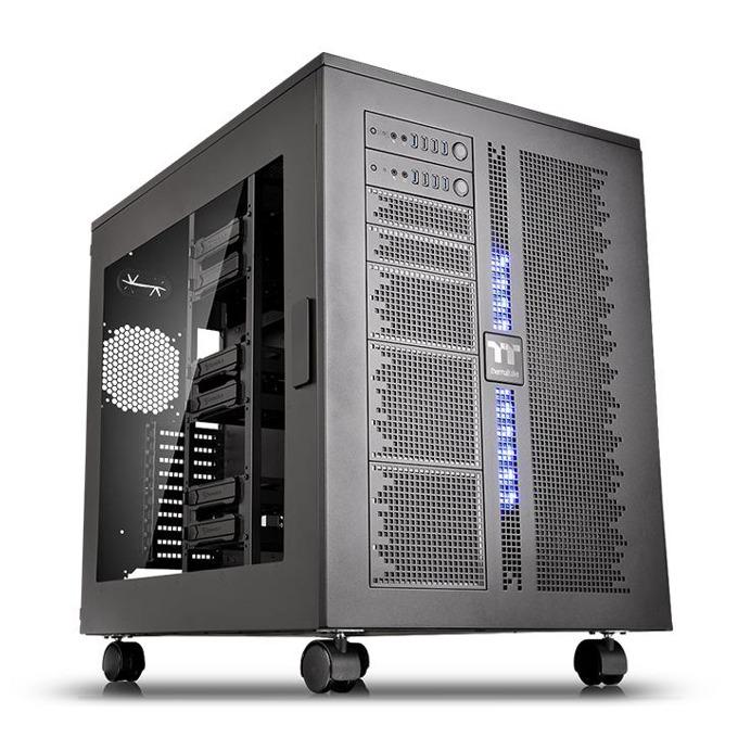 Кутия Thermaltake Core W200 Black CA-1F5-00F1WN-00, XL ATX, 8 x USB 3.0, 2x Audio In/Out, черна, без захранване  image
