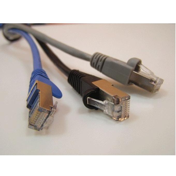 Пач кабел ACnetPLUS, FTP, Cat 5e, 1m, сив image