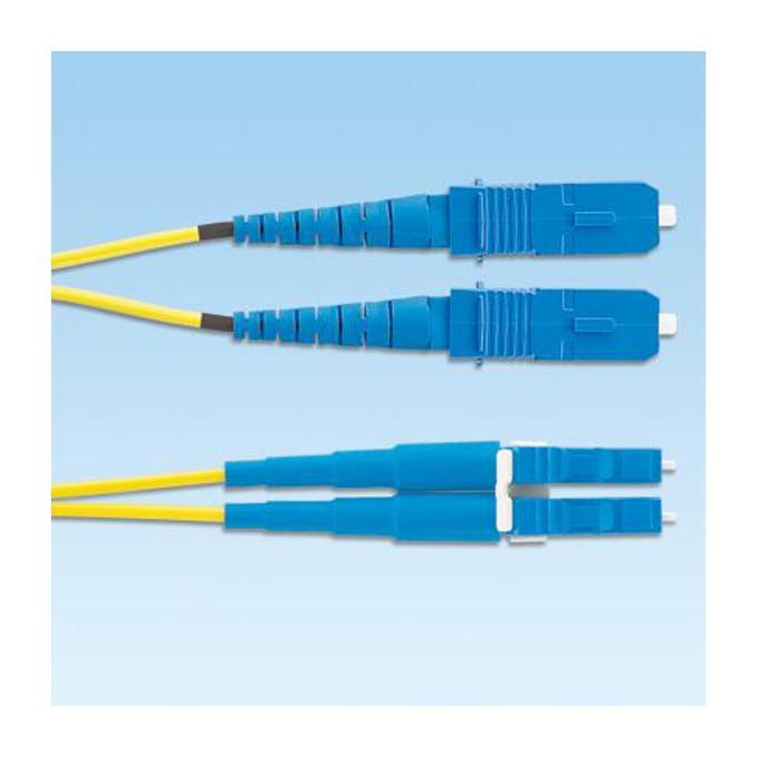 Оптичен кабел SC към LC duplex, 1m, Panduit 9/125, Singlemode 9 image