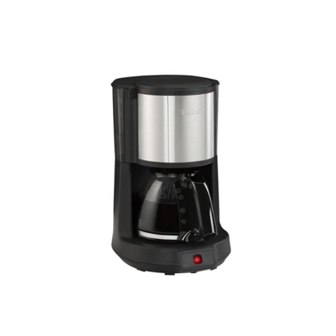 Ръчна шварц кафемашина Tefal CM370811, 1000 W, 1.25 л. обем на резервоара, от 10 до 15 чаши капацитет, черна image