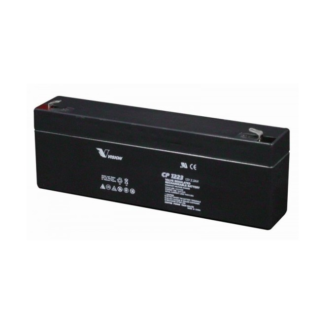 Акумулаторна батерия Vision CP1232F1, 12V, 3.2 Ah, VRLA image