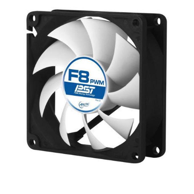 Вентилатор 80mm 8 PWM PST, 4-пинов, 1800 rpm image