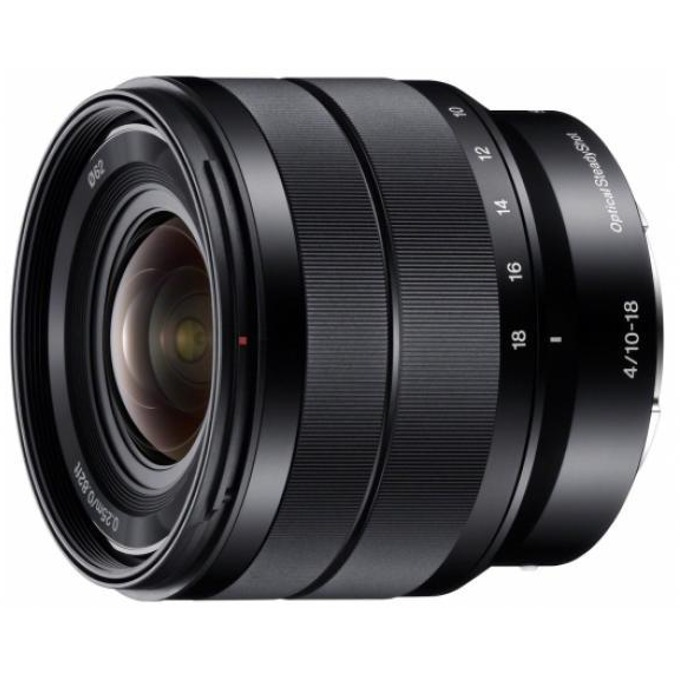 Обектив Sony SEL 10-18mm f/4 OSS за Sony E image