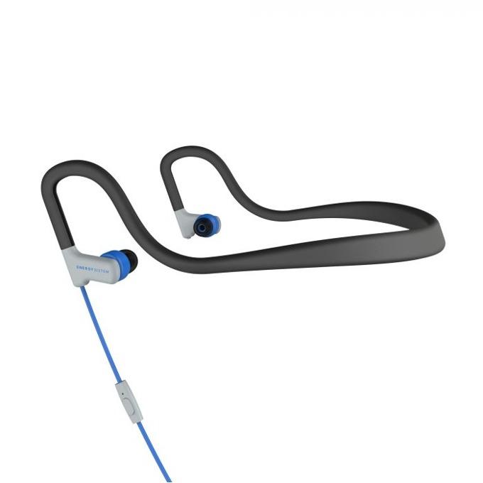 Слушалки Energy Sistem Sport 2, микрофон, сини image