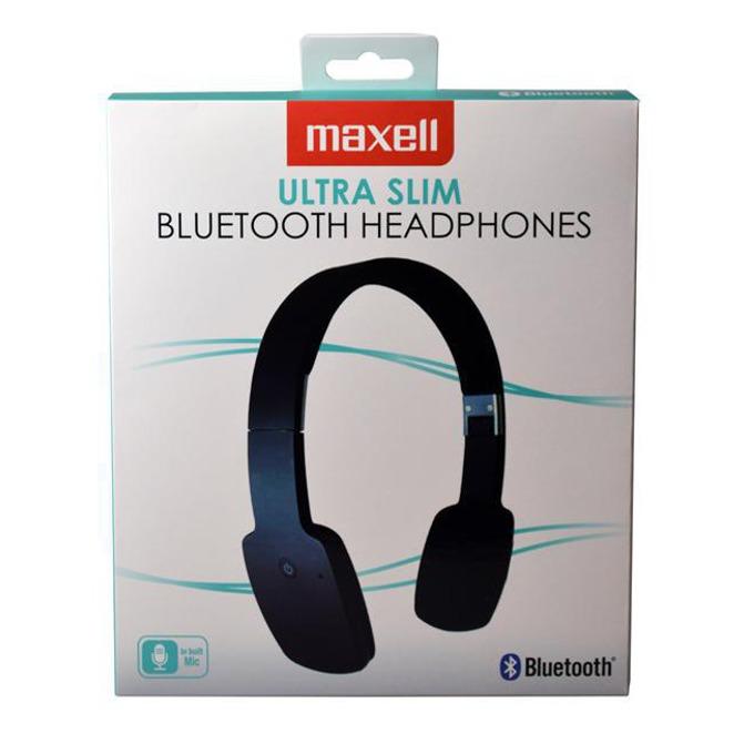 Слушалки MAXELL Bluetooth BT1000, микрофон, черни   image