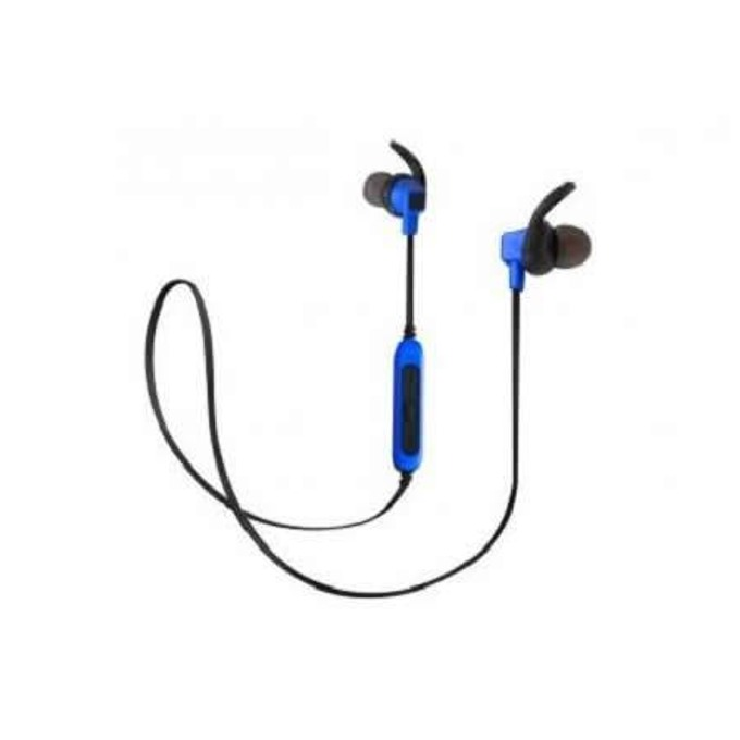 Слушалки Royal BSD-A3, безжични, Bluetooth, микрофон, до 4 часа време за работа, черно-сини image