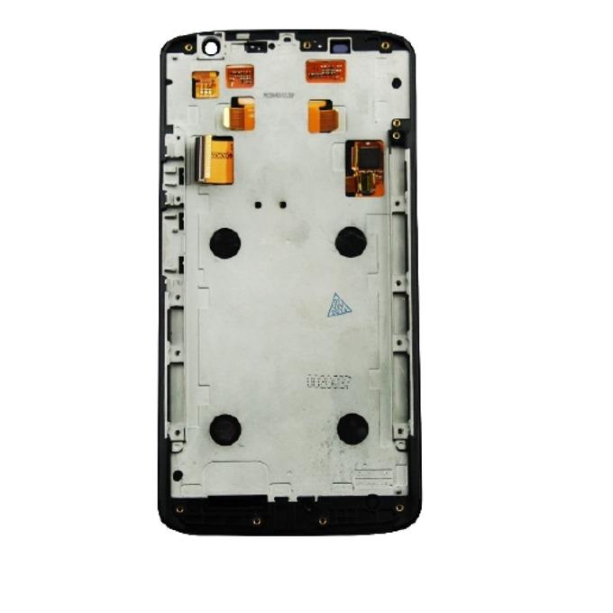 Дисплей за Motorola Moto X Play, с тъч и рамка, черен, оригинален image