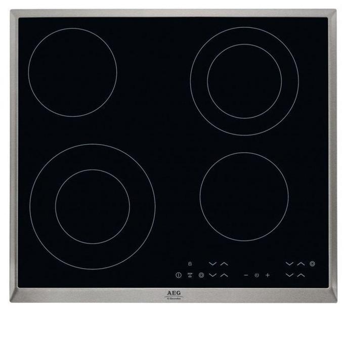 Плот за вграждане AEG HK 634021XB, 4 нагревателни зони, 7 степени на мощност, функция Stop & Go за кратки паузи, черен image