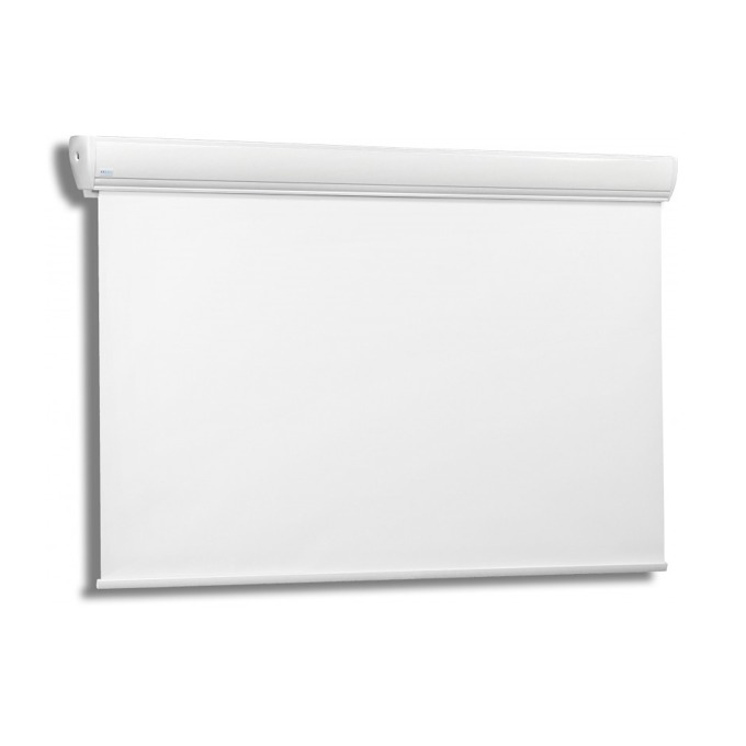 "Екран Avers AKUSTRATUS 2 24 MG, стенен/таванен монтаж, Matt Grey, 240 x 240 см, 134"" (340.36 cm), 1:1 image"