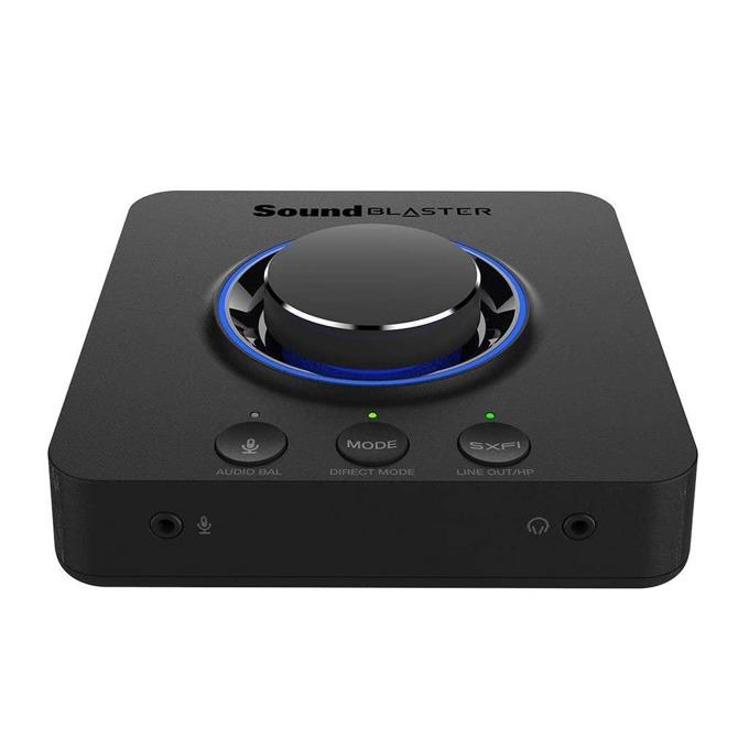 Външна звукова карта Creative Sound Blaster X3, 4x Line out, USB, черна image