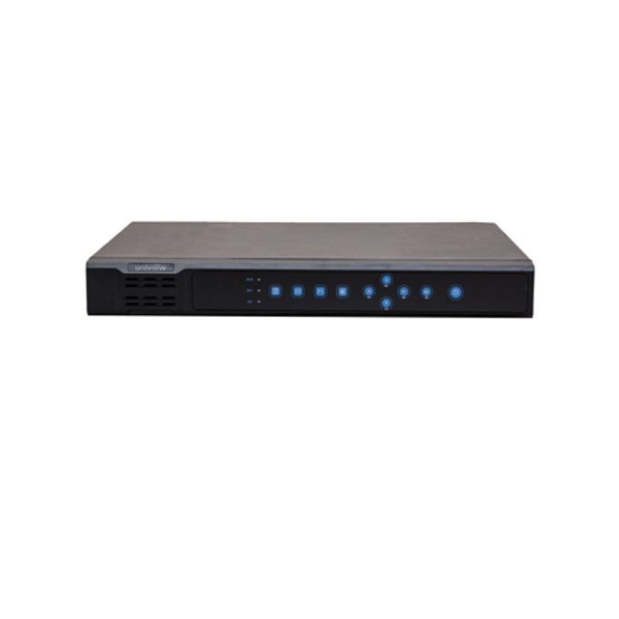IP видеорекордер Uniview NVR202-08EP, 8 канален, 1х USB2.0, 1x USB3.0, 1x Adaptive Ethernet 1000Mbps, 8x PoE 100Mbps, 1x VGA, 1x HDMI image