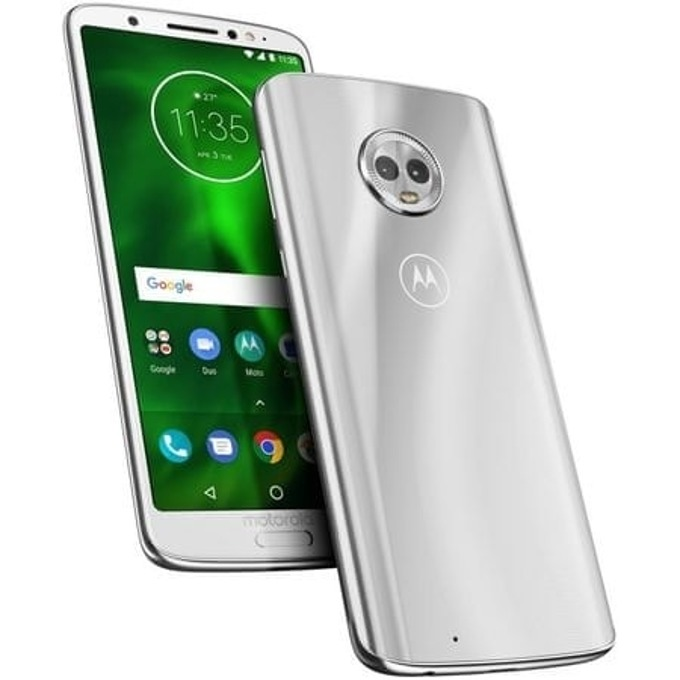 "Смартфон Motorola Moto G6, поддържа 2 сим карти, 5.70"" (14.48 см) Full HD IPS дисплей, осемядрен Snapdragon 450 1,8 GHz, 3GB RAM, 32GB Flash памет + (microSD слот), 12 & 5Mpix, Android, 167гр. image"
