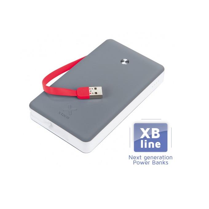 Външна батерия/power bank A-solar Xtorm Free XB102, 15000 mAh, 3x USB изхода, сива   image