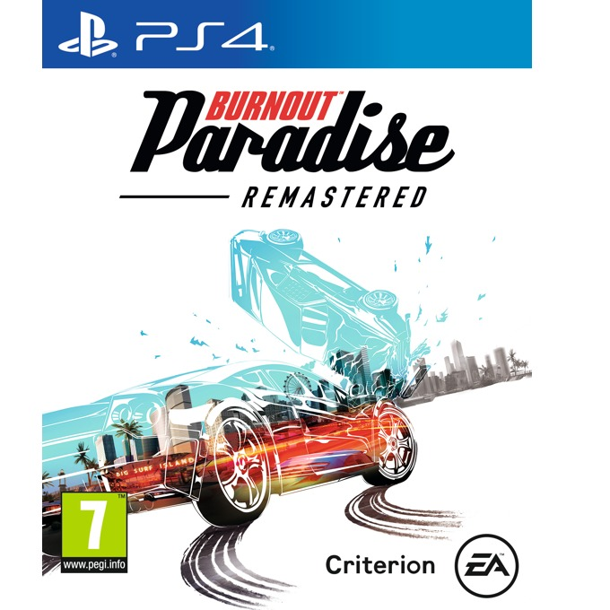 Игра за конзола Burnout Paradise Remastered, за PS4 image