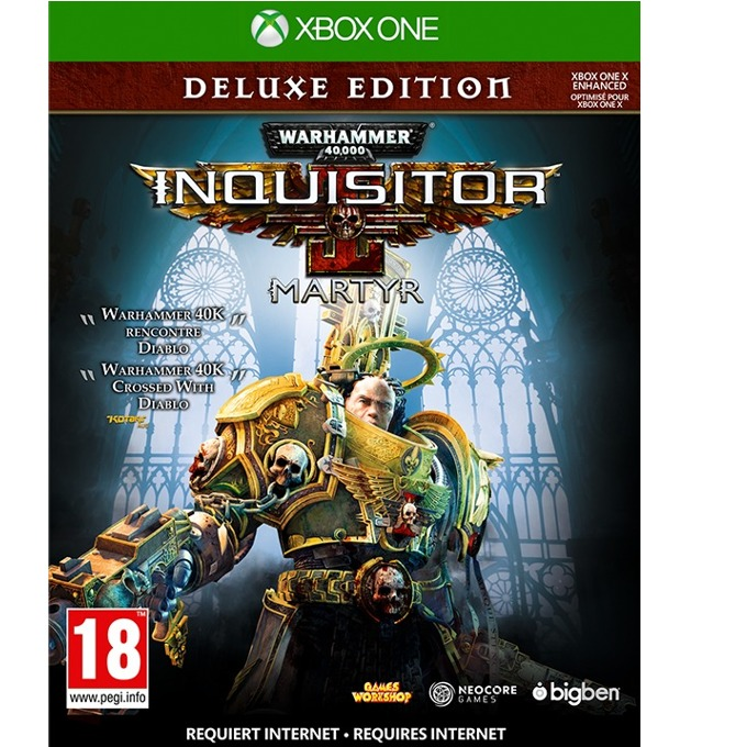 Игра за конзола Warhammer 40,000 Inquisitor Martyr Deluxe Edition, за Xbox One image