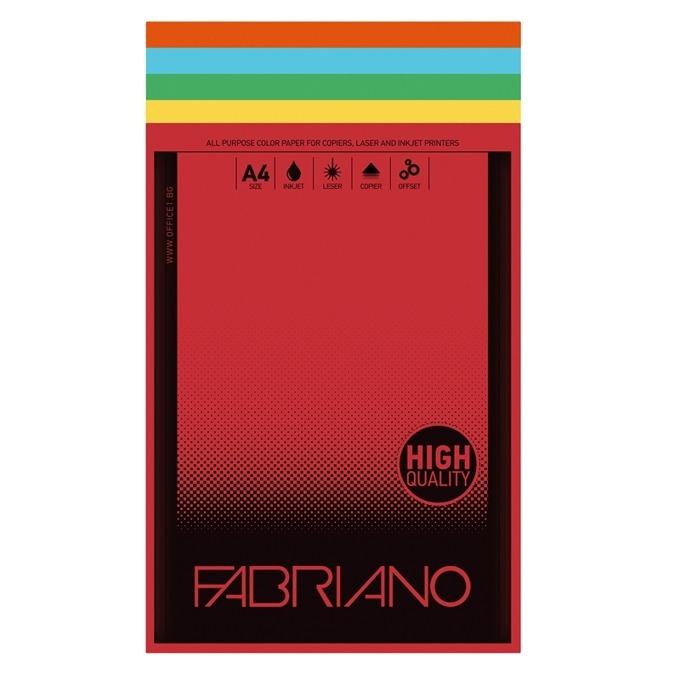 Fabriano A4, 160 g/m2, 23 цвята, 250 листа product