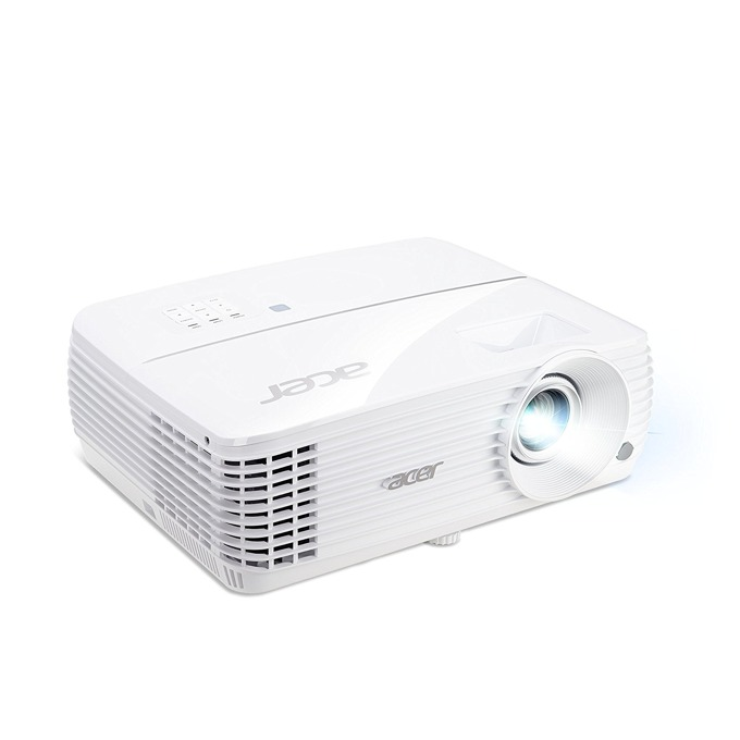 "Проектор Acer H6810 с подарък екран Acer M90-W01MG 90"" (228.60 cm), DLP, 4K UHD(3840x2160), 10,000:1, 3500 lm, HDMI, VGA, USB image"