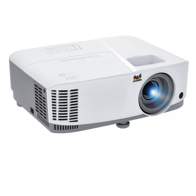 Проектор VIEWSONIC PA503W, DLP, WXGA(1280x800), 22000:1, 3600 lm, VGA, HDMI, RS232, RCA, бял image