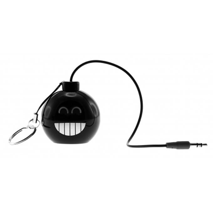 Тонколона KitSound Mini Buddy Bomb, 1.0, 2W, USB, черна, преносима, вградена Li-Ion батерия image