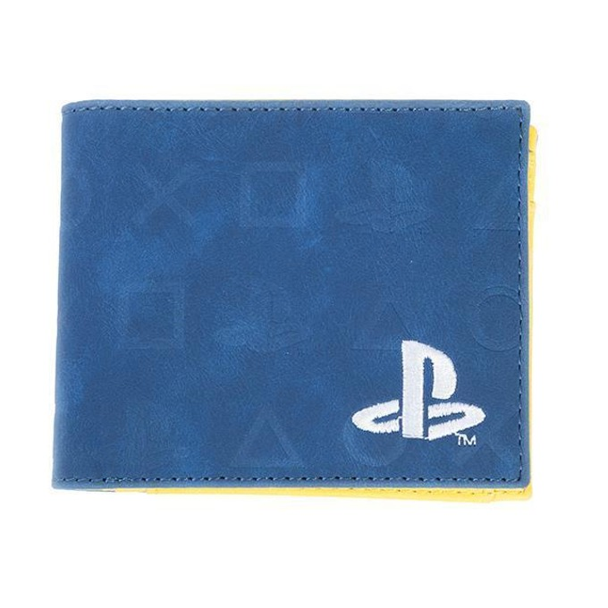 Портфейл Bioworld PlayStation Icons AOP, син image