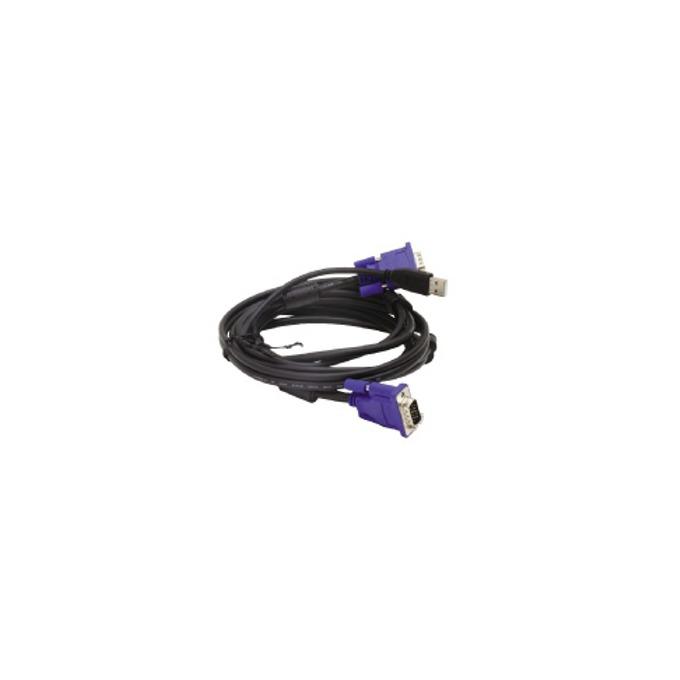 KVM кабел D-Link DKVM-4U, 2x VGA, 2x USB image