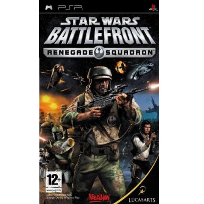 Игра за конзола Star Wars: Battlefront - Renegade Squadron, за PSP image