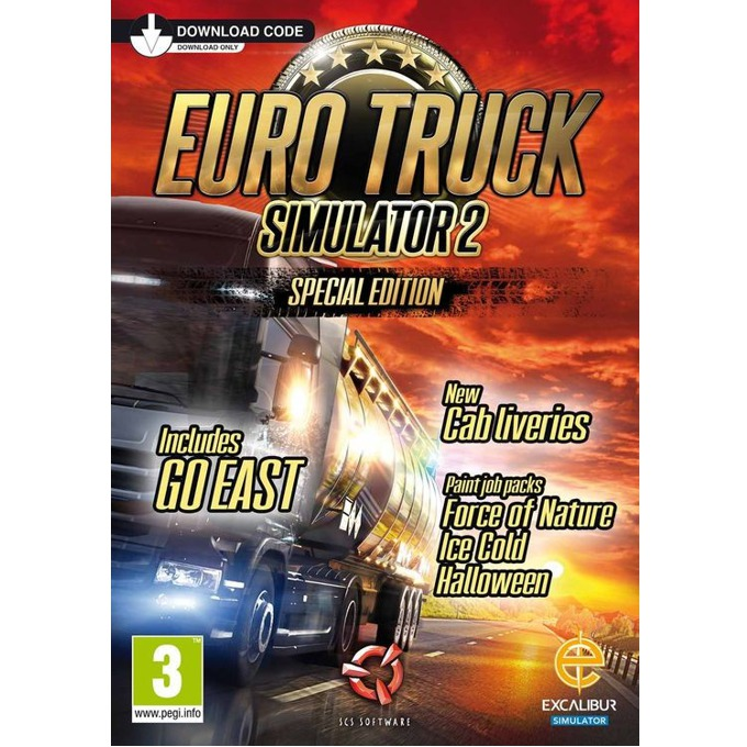 Игра Euro Truck Simulator 2: Special Edition, за PC image