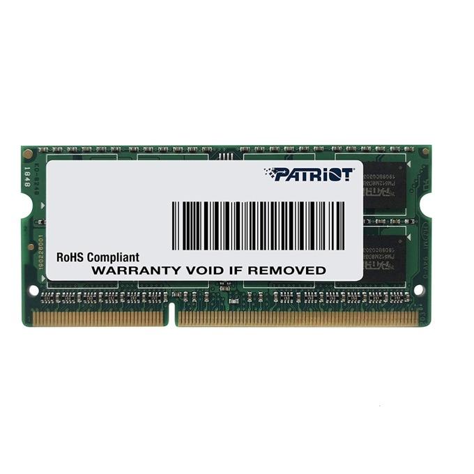 Patriot SODIMM DDR3L 8GB PSD38G1600L2S product