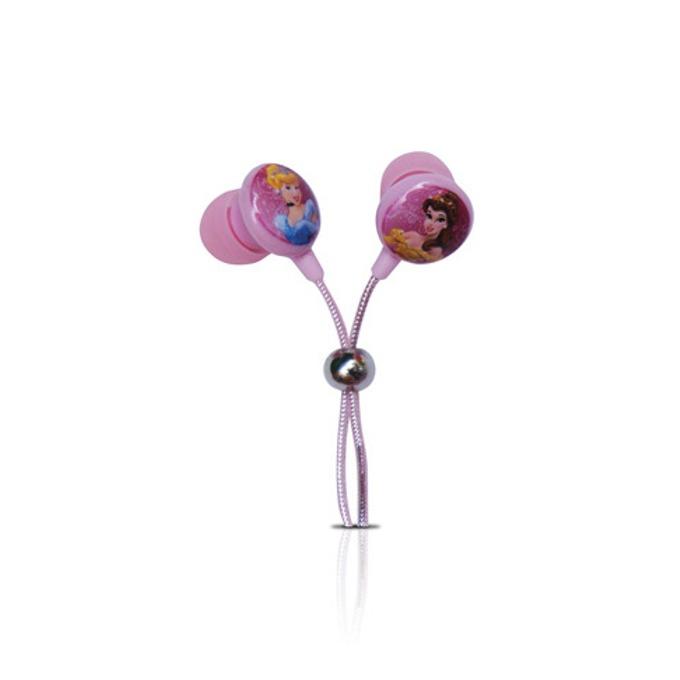 "Слушалки Disney DSY-HP750 Princess, тип ""тапи"", розови image"
