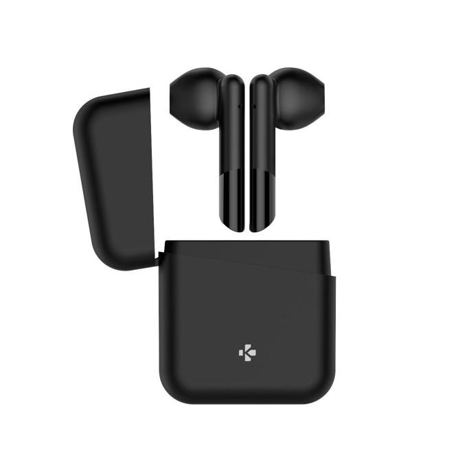 Слушалки MyKronoz ZeBuds Lite, безжични, микрофон, Bluetooth, кутия за зареждане, черен image