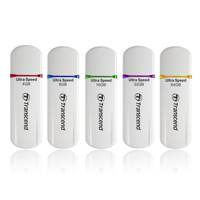 64GB USB Flash Drive, Transcend JetFlash 620, USB 2.0, лилава image