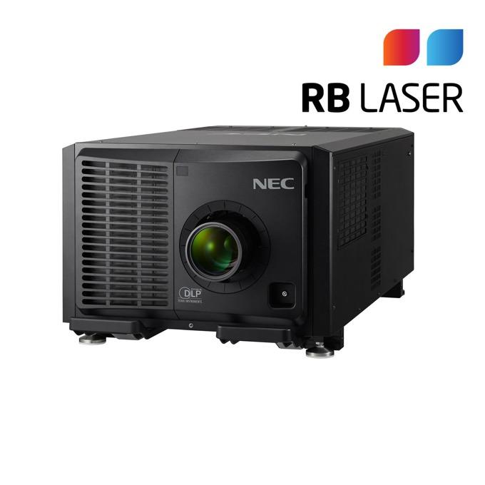 Проектор NEC PH3501QL, DLP, 4K(4096x2160), 30000:1, 35000 lm, HDMI, DisplayPort, RS232, SDI, UBS, HDBaseT, LAN, черен image