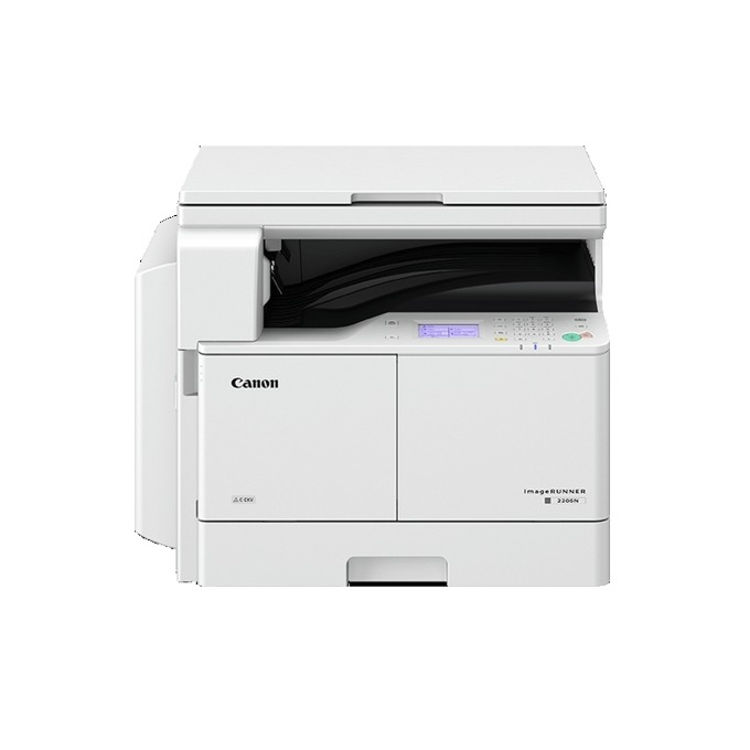 Мултифункционално лазерно устройство Canon imageRUNNER 2206N, монохромен принтер/копир/скенер, 600 x 600 dpi, 22 стр./мин, Wi-Fi, LAN, USB, A3 image