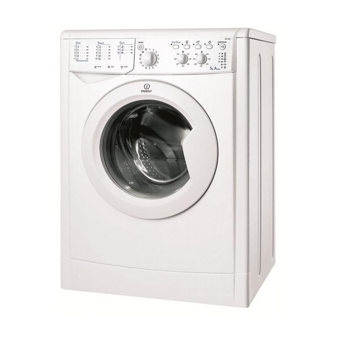 Перална машина Indesit IWSC 51051 C ECO EU, клас A+, 5 кг. капацитет, 1000 оборота в минута, 12 програми, свободностояща, 60 cm. ширина, бяла image