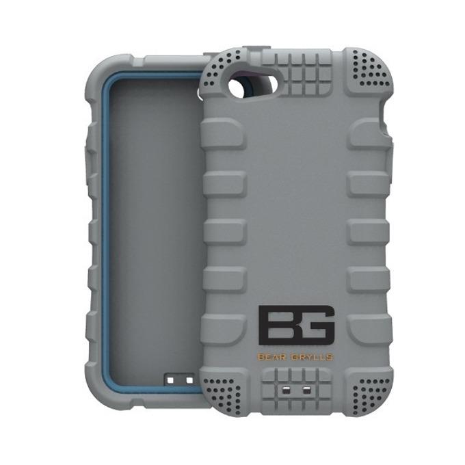 Силиконов протектор Jivo Bear Grylls Action Case, защита от най-висок клас, за iPhone 5/5S, сив image