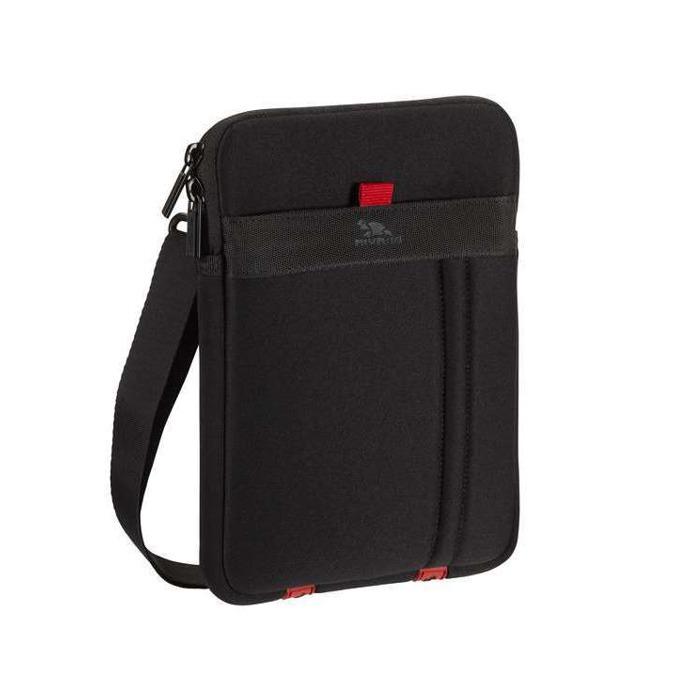 """Чанта за таблет Rivacase 5107 до 7.0"""" (17.78 cm), полиестер, черна image"""