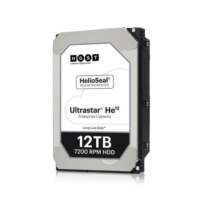 """Твърд диск 12TB HGST Ultrastar He12 HUH721212ALE604(0F30146), SATA 6Gb/s, 7 200 rpm, 256MB кеш, 512e sector size(Secure Erase), 3.5"""" (8.89 cm) image"""