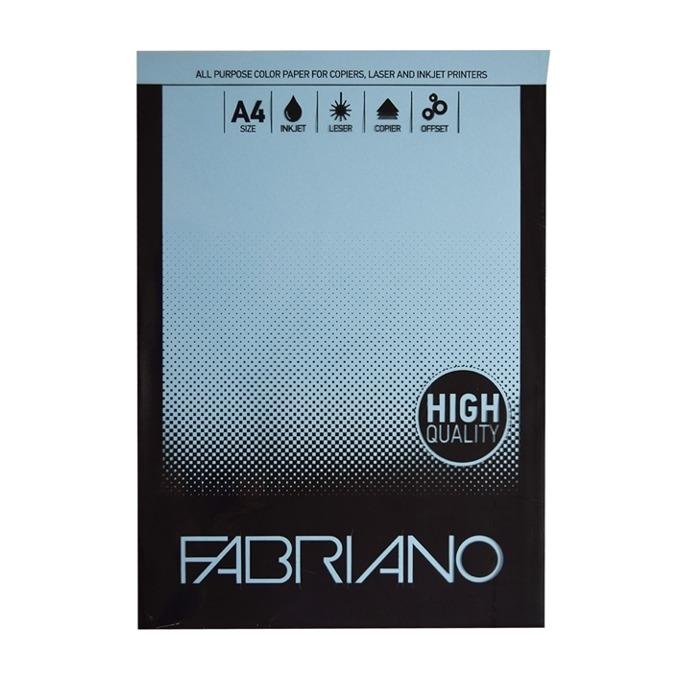 Fabrino A4, 160 g/m2, небесносин, 50 листа product