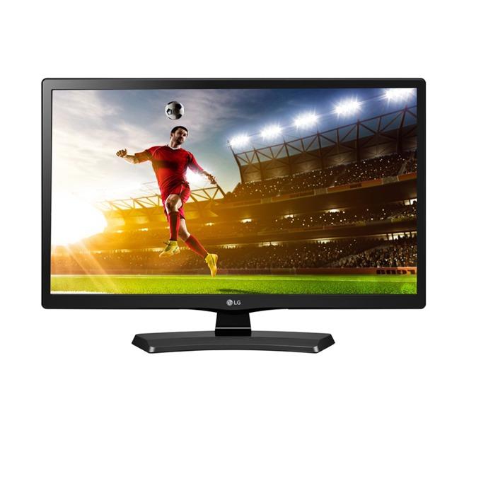 """Монитор LG 20MT48DF-PZ 19.5"""" (49.53 cm) TN панел, HD, 5ms, 5M:1, 200 cd/m2, HDMI image"""