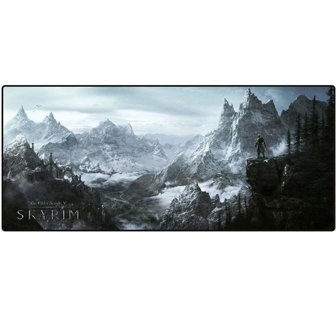 "Подложка за мишка Skyrim Oversize ""Valley"", гейминг, 800 x 350 x 4 mm image"